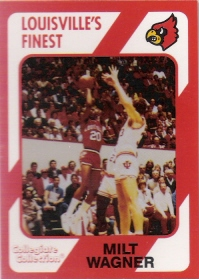 1989-90 Louisville Collegiate Collection #235 Milt Wagner