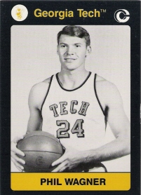 1991 Georgia Tech Collegiate Collection #177 Phil Wagner BK