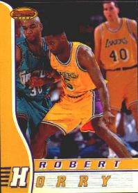 1996-97 Bowman's Best Refractors #20 Robert Horry