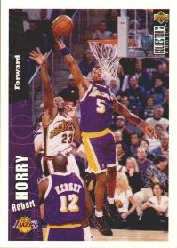 1996-97 Collector's Choice #411 Robert Horry TRADE