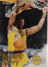 1996-97 Hoops Sheets #LA 1G Robert Horry