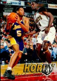 1997-98 Fleer Crystal Collection #144 Robert Horry