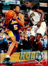 1997-98 Fleer Tiffany Collection #144 Robert Horry