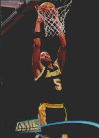1997-98 Stadium Club One Of A Kind #161 Robert Horry #ed to 150