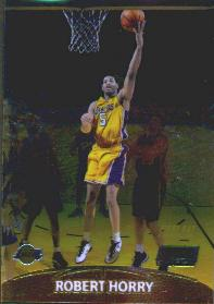 1999-00 Stadium Club Chrome First Day Issue #60 Robert Horry #ed to 100