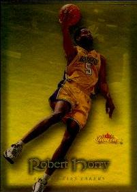 2000-01 Fleer Showcase Legacy Collection #58 Robert Horry #ed to 50