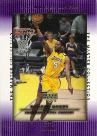 2000 Upper Deck Lakers Master Collection #18 Robert Horry #ed to 300