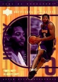 2001-02 Upper Deck Hardcourt Exclusives #40 Robert Horry #ed to 25