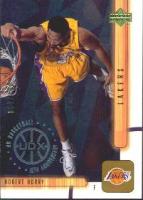 2001-02 Upper Deck UDX #304 Robert Horry #ed to 100