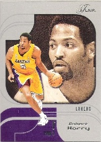 2002-03 Flair Row 1 #54 Robert Horry #ed to 150