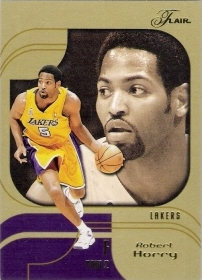 2002-03 Flair Row 2 #54 Robert Horry #ed to 25