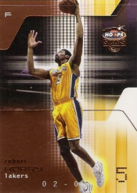 2002-03 Hoops Stars Five-Star #69 Robert Horry #ed to 299