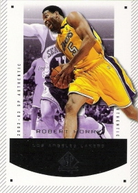 2002-03 SP Authentic #39 Robert Horry