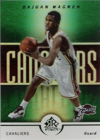 2005-06 Reflections 25 #17 Dajuan Wagner #ed to 25