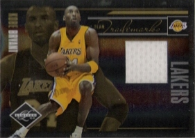 2010-11 Limited Team Trademarks Materials #14 Kobe Bryant #ed to 99